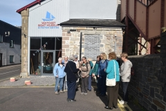 Outside Watchet Boat Museum