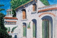 Peter Hallam: A villa in Racusa, Sicily