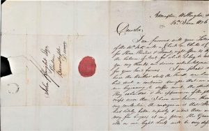 a 19th century letter