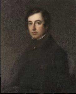 Portrait painting of F.W. Knight